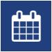calendar symbol icon for adult co-ed san antonio charity christmas party