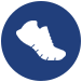 shoe icon for San Antonio ssc corporate races