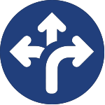 diverging arrows icon for corporate wellness san antonio tx