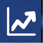 increasing graph icon for corporate wellness program san antonio tx