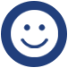 smiley face icon for social interaction for san antonio ssc social coordinator