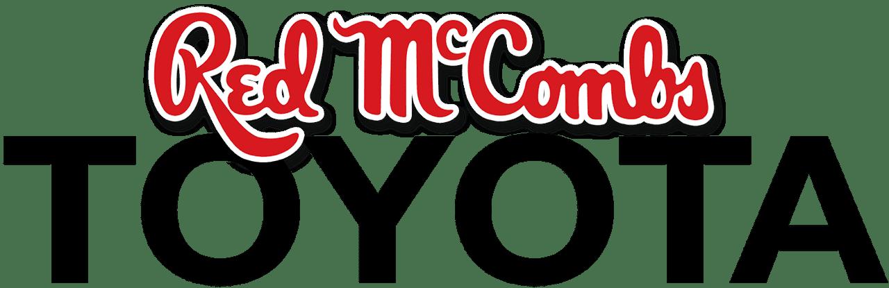 red mccombs toyota logo